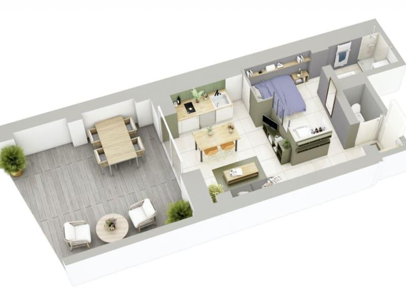 Sale apartment Lyon 3ème 270000€ - Picture 8