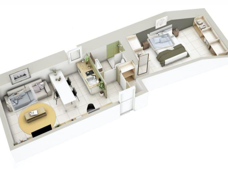 Sale apartment Lyon 3ème 270000€ - Picture 14