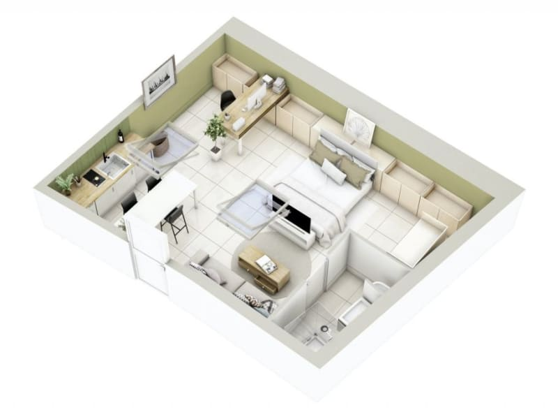 Sale apartment Lyon 3ème 270000€ - Picture 15