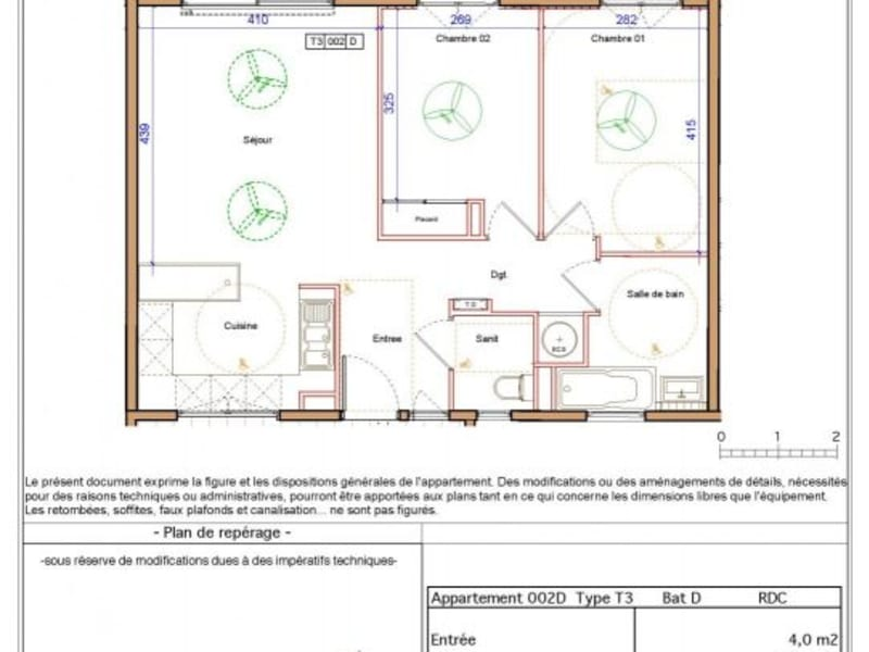 Location appartement St denis camelias 781€ CC - Photo 8