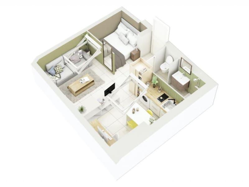 Sale apartment Lyon 3ème 276000€ - Picture 13