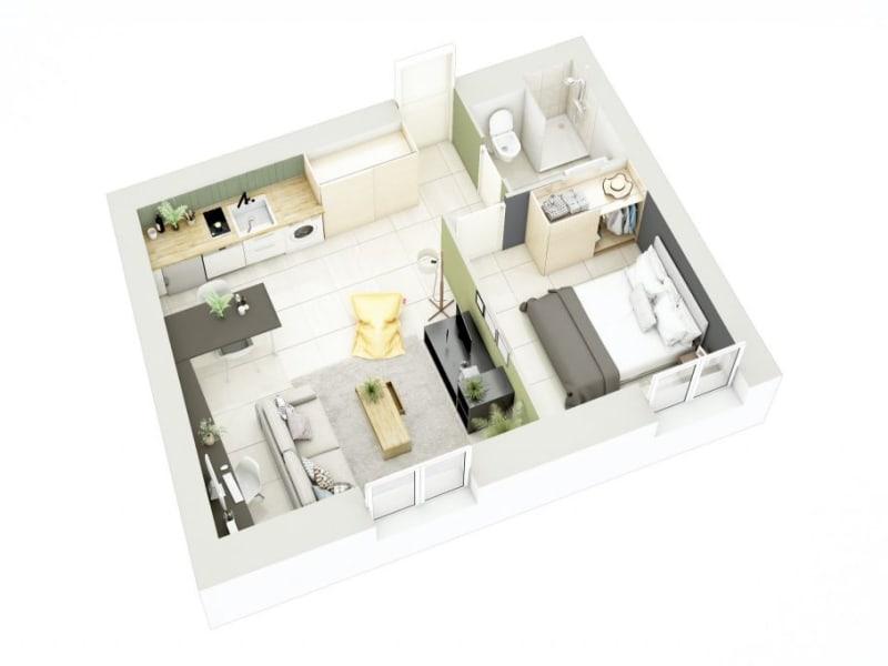 Sale apartment Lyon 3ème 270000€ - Picture 10
