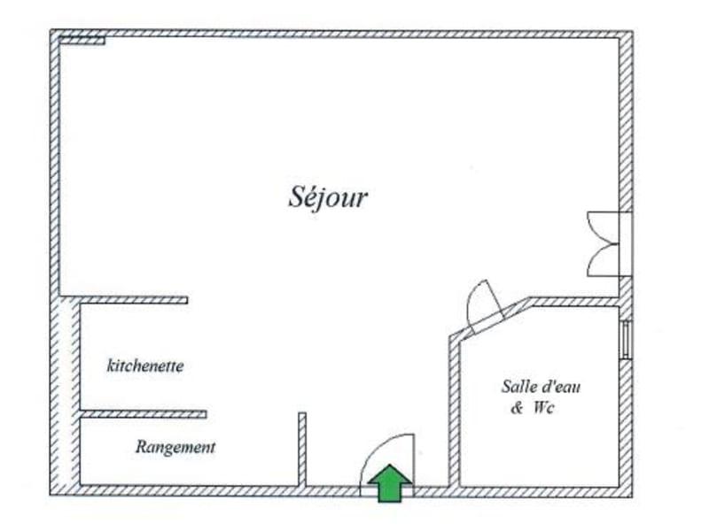 Verkoop  appartement Paris 15ème 212000€ - Foto 7