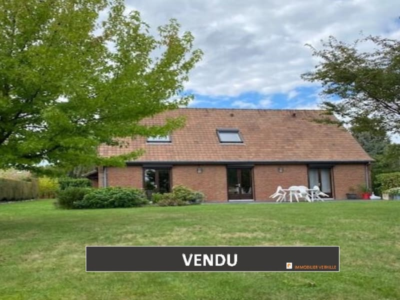 Vente maison / villa Sailly sur la lys 394 000€ - Photo 1