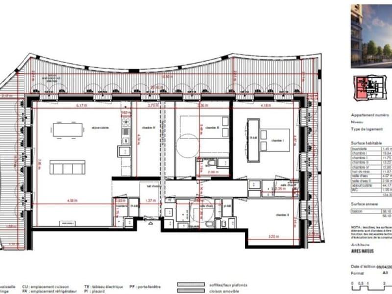 Lyon-2eme-arrondissement - 5 pièce(s) - 124 m2