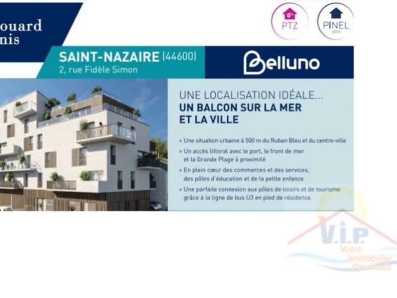 Sale apartment St nazaire 173 000€ - Picture 1