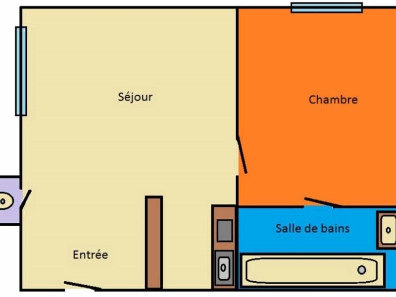 Rental apartment Paris 15ème 1120€ CC - Picture 4