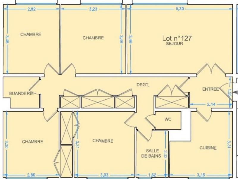 Sale apartment Canteleu 94500€ - Picture 7