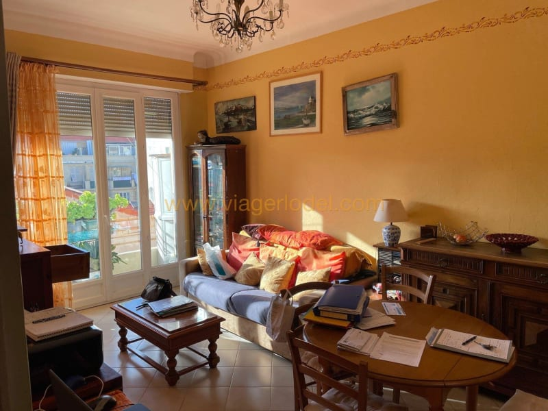 Life annuity apartment Nice 40 000€ - Picture 1