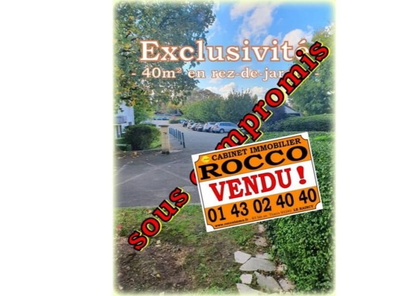 Sale apartment Le raincy 149000€ - Picture 1