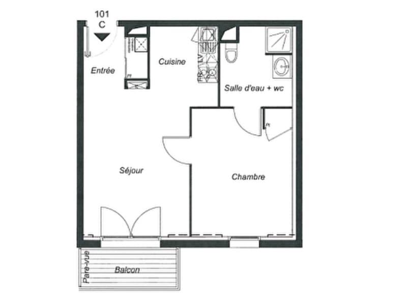 Sale apartment Pont l abbe 117700€ - Picture 5