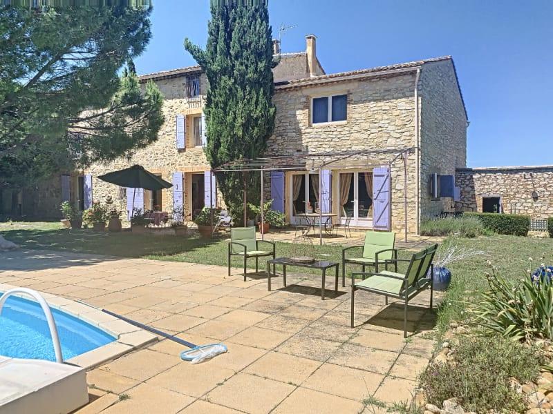 Sale house / villa Saint victor la coste 664000€ - Picture 1