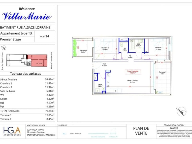 Deluxe sale apartment Le grau du roi 460500€ - Picture 2