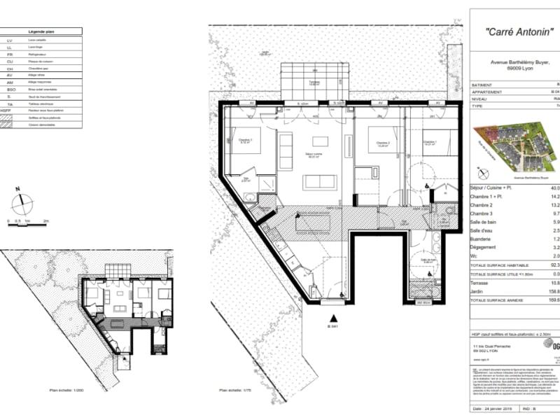 Vente maison / villa Lyon 9ème 497000€ - Photo 4