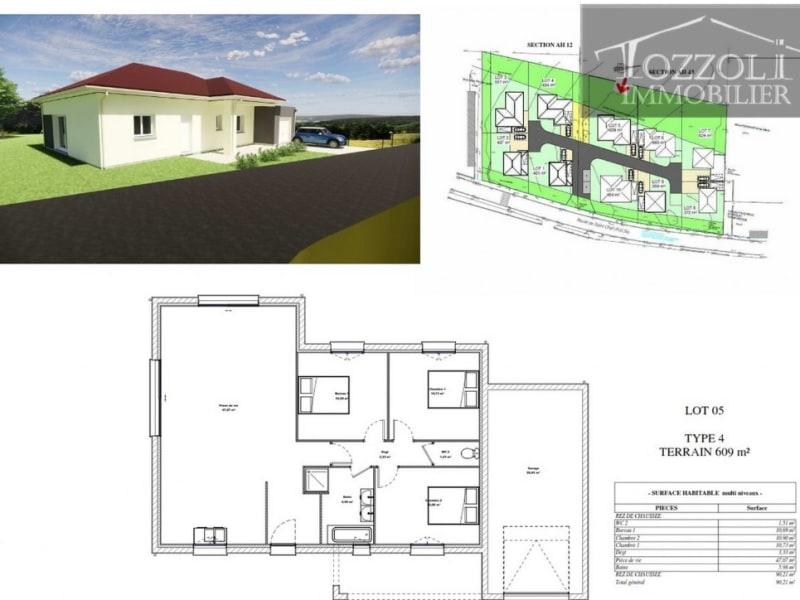 Vente maison / villa Rochetoirin 267654€ - Photo 2