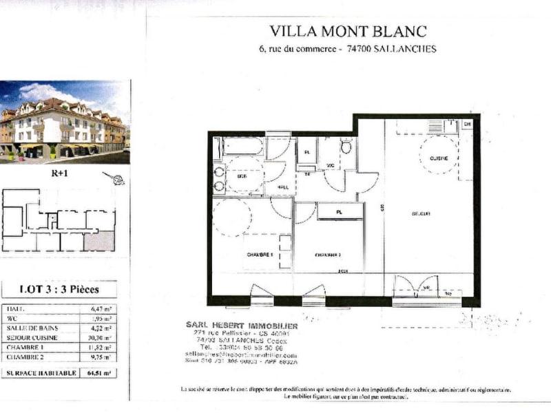 Vente appartement Sallanches 236000€ - Photo 4