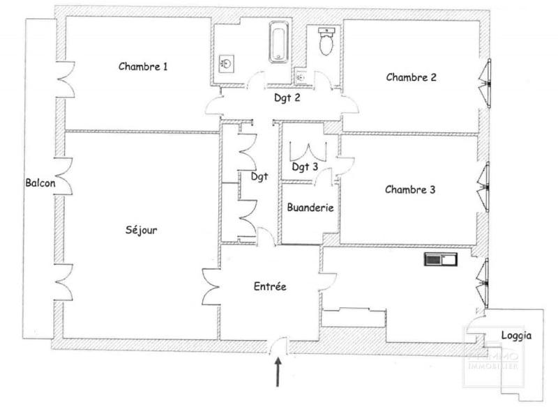 Sale apartment Lyon 6ème 575000€ - Picture 12