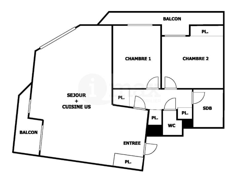 Sale apartment Levallois perret 780000€ - Picture 9