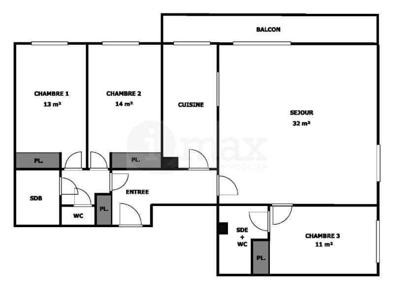Sale apartment Levallois perret 1240000€ - Picture 8
