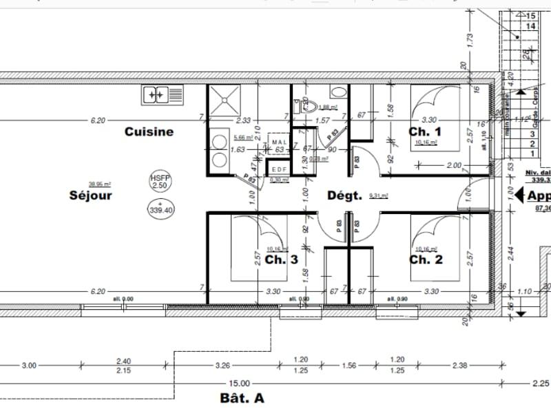 Vente appartement Aix les bains 369000€ - Photo 3
