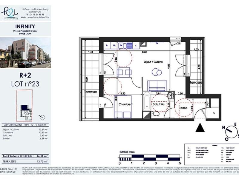 Vente appartement Lyon 8ème 299000€ - Photo 2