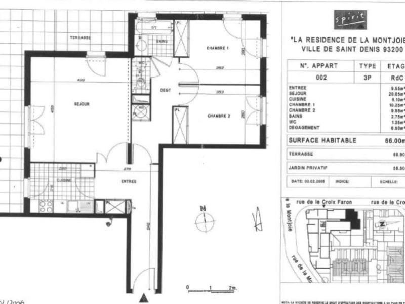 Sale apartment La plaine st denis 310000€ - Picture 1