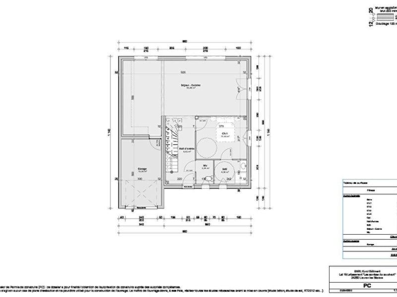 Sale house / villa Lieuran les beziers 265500€ - Picture 3