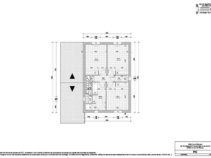 Sale house / villa Lieuran les beziers 265500€ - Picture 4
