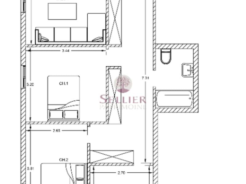 Venta  apartamento Arcueil 443000€ - Fotografía 3