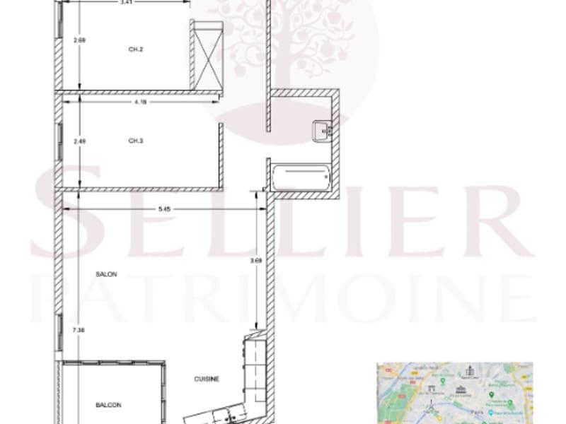 Venta  apartamento Arcueil 443000€ - Fotografía 13
