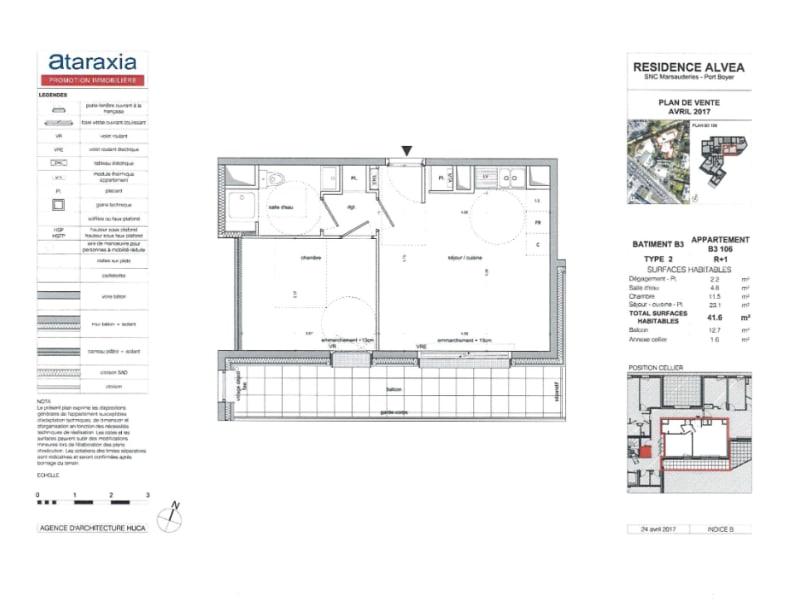 Alquiler  apartamento Nantes 620€ CC - Fotografía 1