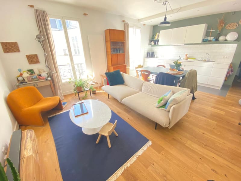 Vente appartement Paris 10ème 730000€ - Photo 1
