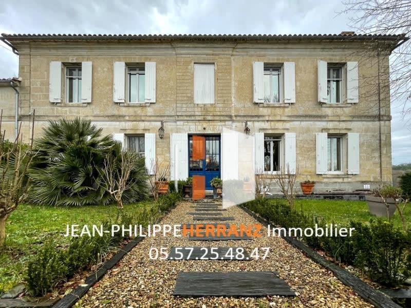 Sale house / villa Branne 550000€ - Picture 1