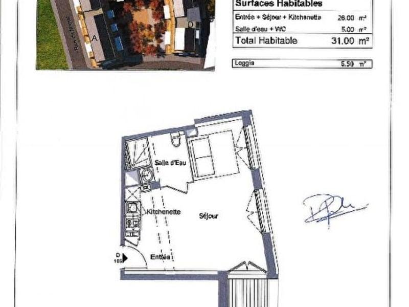 Location appartement Bonneville 440€ CC - Photo 6