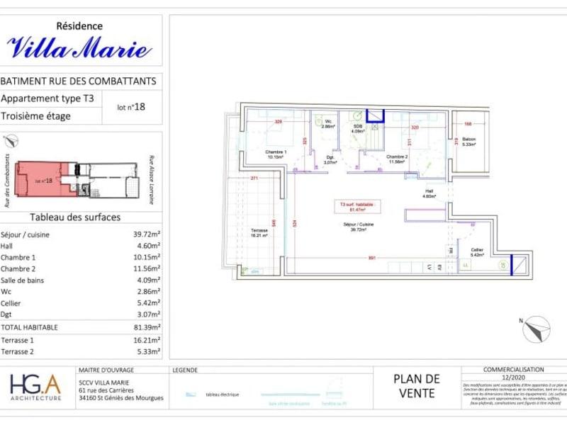 Deluxe sale apartment Le grau du roi 404500€ - Picture 2