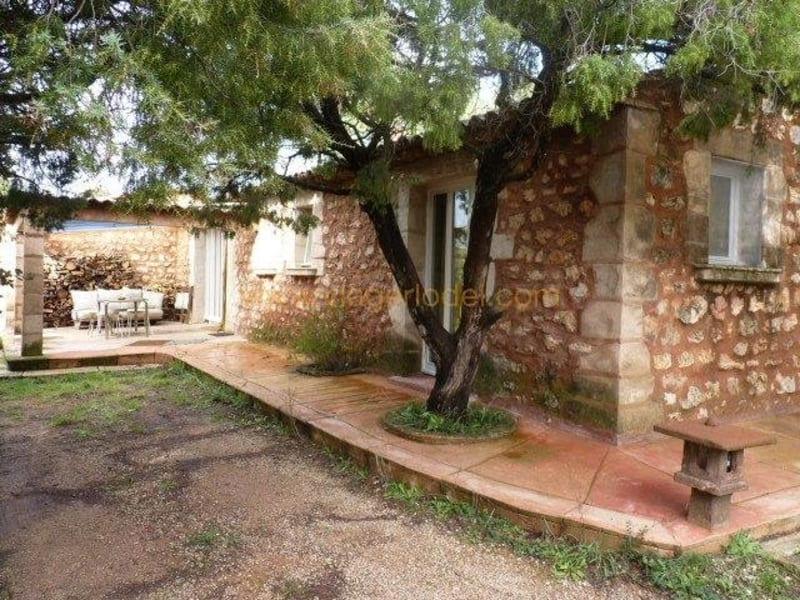 Life annuity house / villa Régusse 53000€ - Picture 1