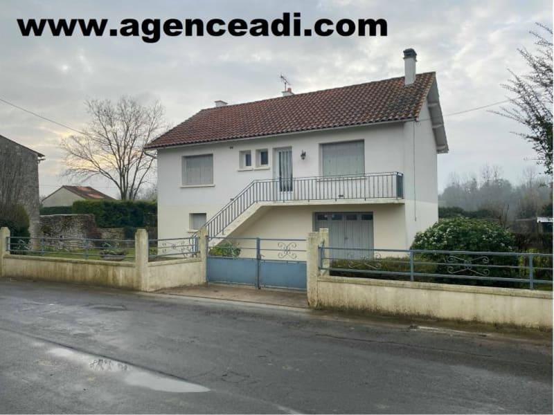 Vente maison / villa Pamproux 100000€ - Photo 1