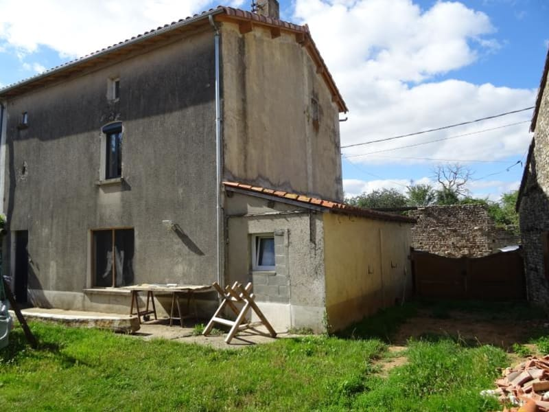 Vente maison / villa Pamproux 84 800€ - Photo 2