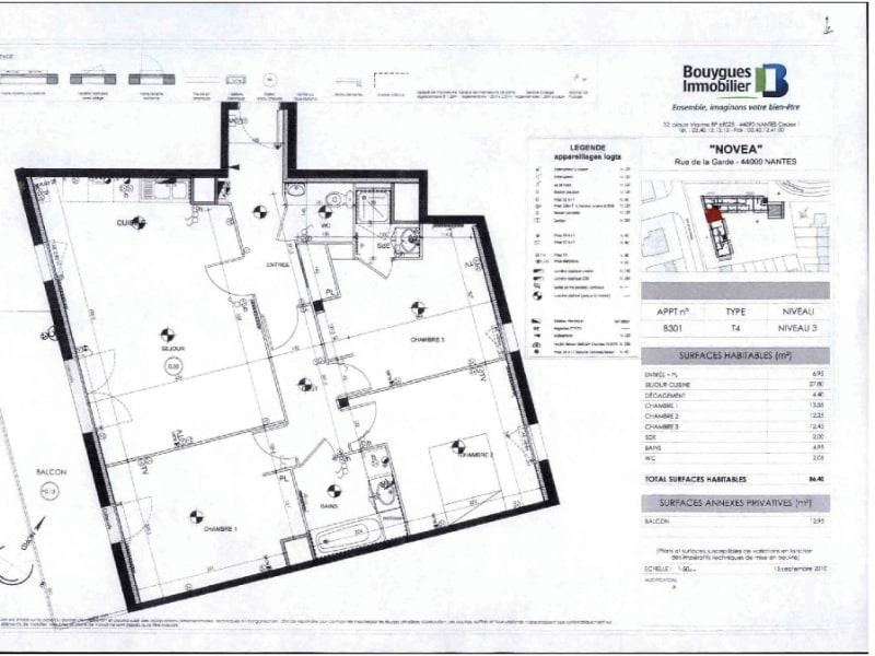 Rental apartment Nantes 1007€ CC - Picture 2