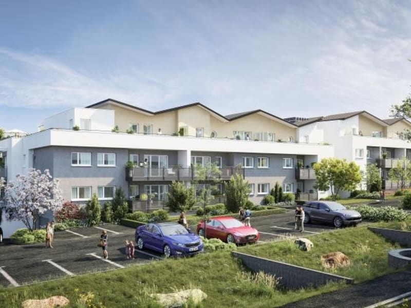 Deluxe sale apartment Montigny les metz 287851€ - Picture 2