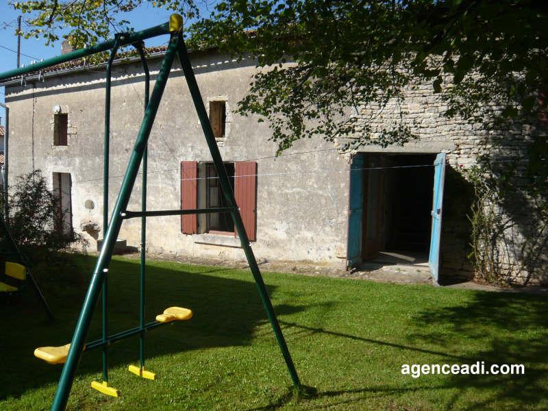 Vente maison / villa Pamproux 25000€ - Photo 1