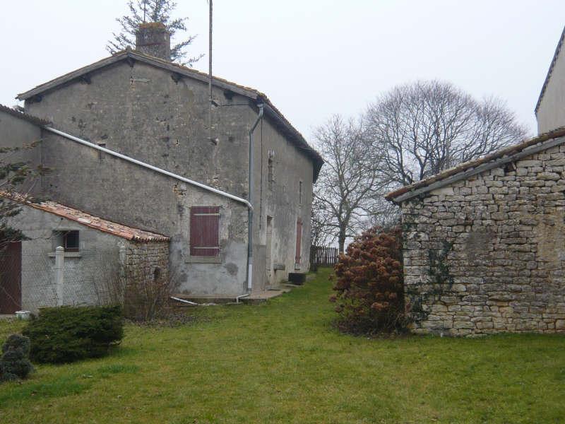 Vente maison / villa Pamproux 25000€ - Photo 2
