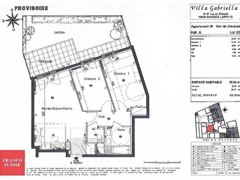 Sale apartment Maisons laffitte 525000€ - Picture 10