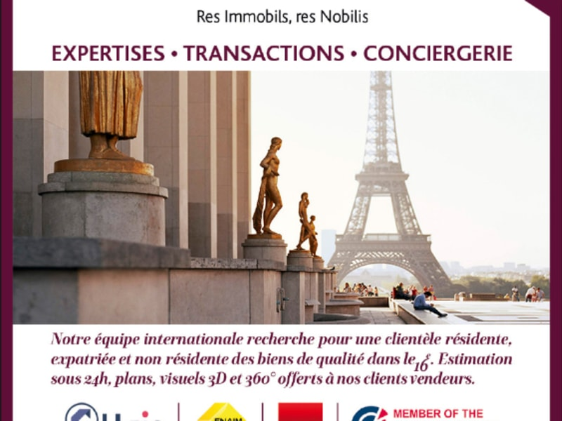 Venta  apartamento Paris 16ème 377000€ - Fotografía 3