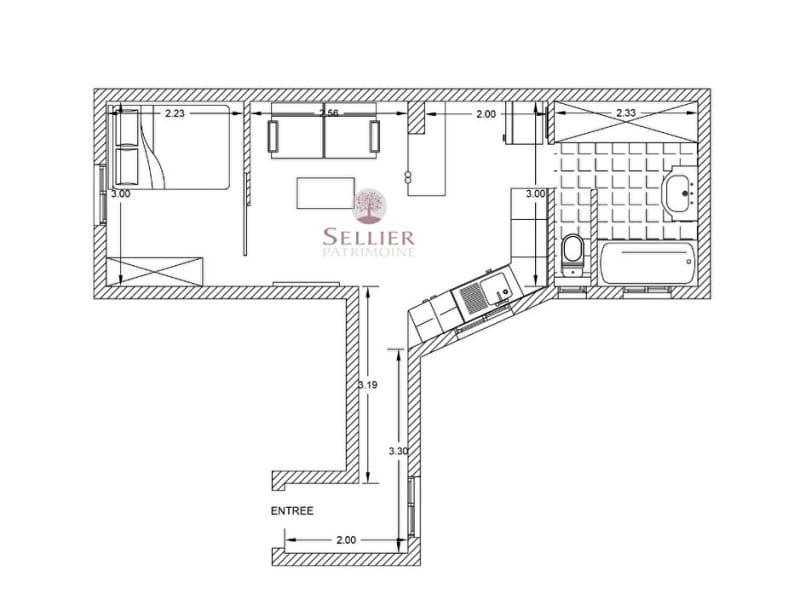 Vendita appartamento Paris 16ème 377000€ - Fotografia 5