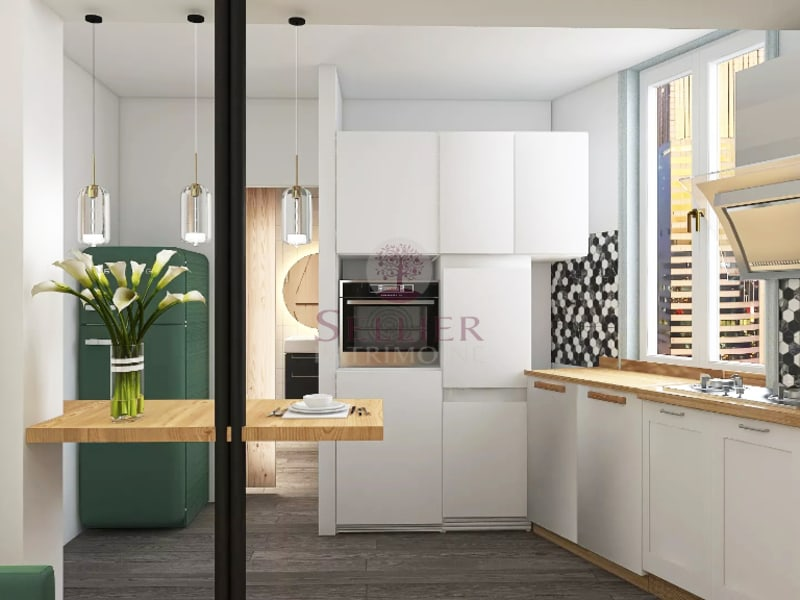 Venta  apartamento Paris 16ème 377000€ - Fotografía 7