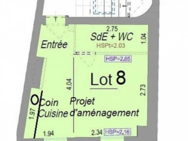 Vente appartement Bordeaux 129 000€ - Photo 2
