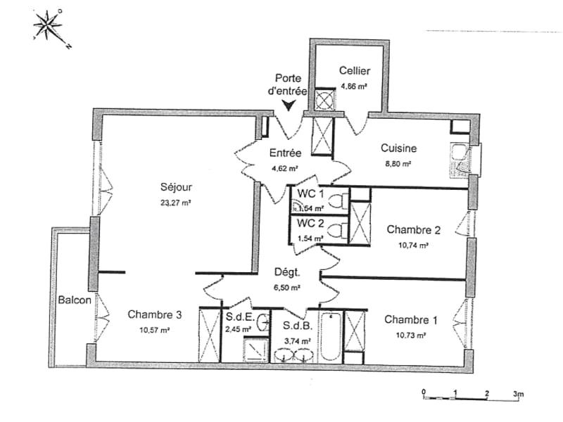 Sale apartment Puteaux 790000€ - Picture 11