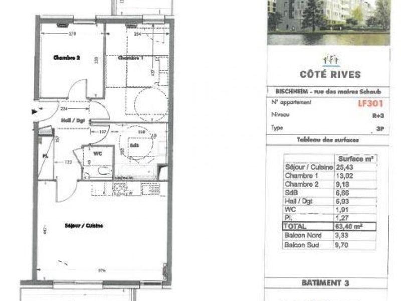 Location appartement Bischheim 827€ CC - Photo 6