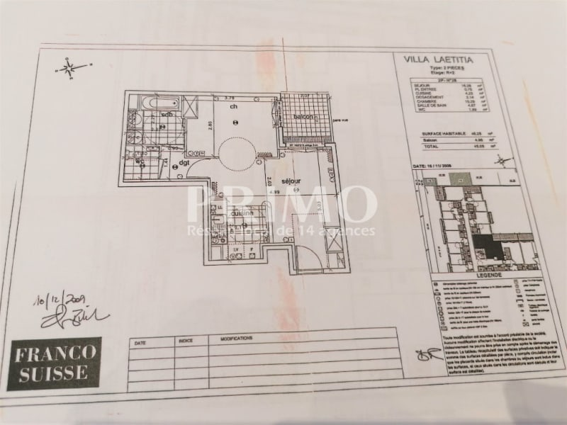Vente appartement Chatenay malabry 255208€ - Photo 3